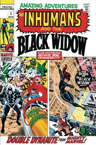 Black Widow: Amazing Adventures #1 (True Believers)