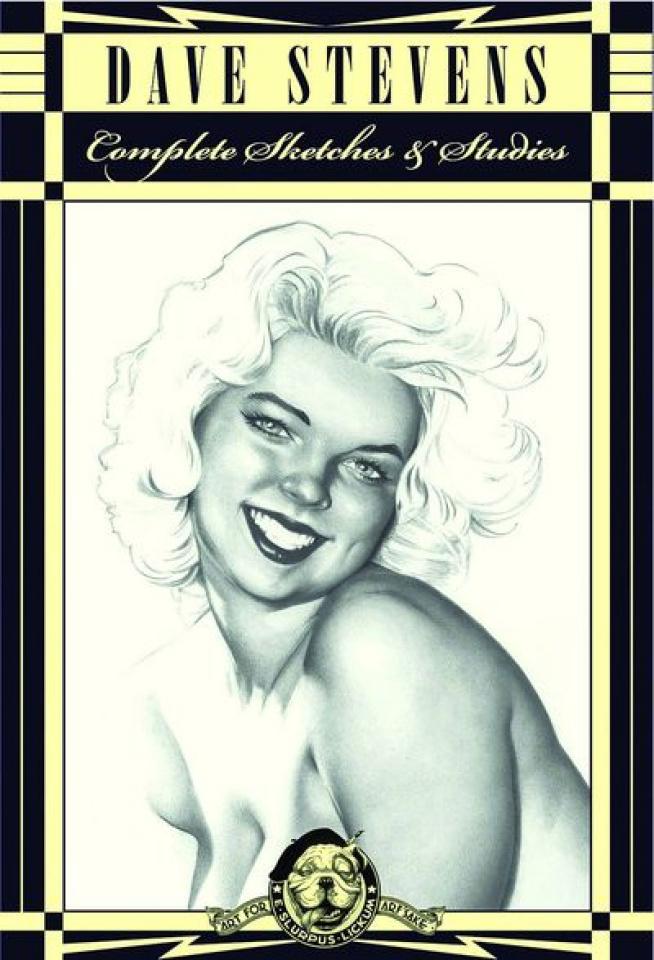 Dave Stevens' Complete Sketchbook Collection