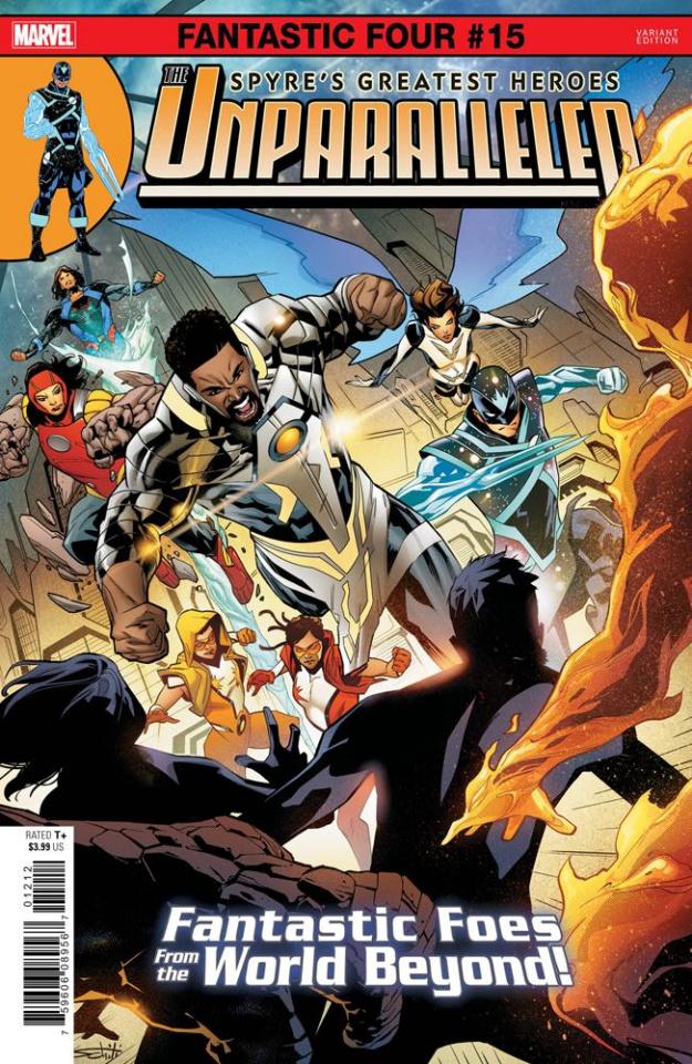 Fantastic Four #15 (Schiti Spoiler Cover)