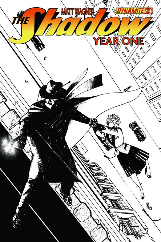 The Shadow: Year One #2 (Chaykin Cover)