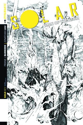 Solar: Man of the Atom #8 (25 Copy Cover)