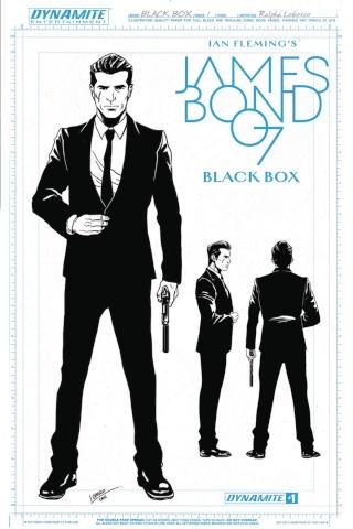 James Bond: Black Box #1 (10 Copy Lobosco Design Cover)