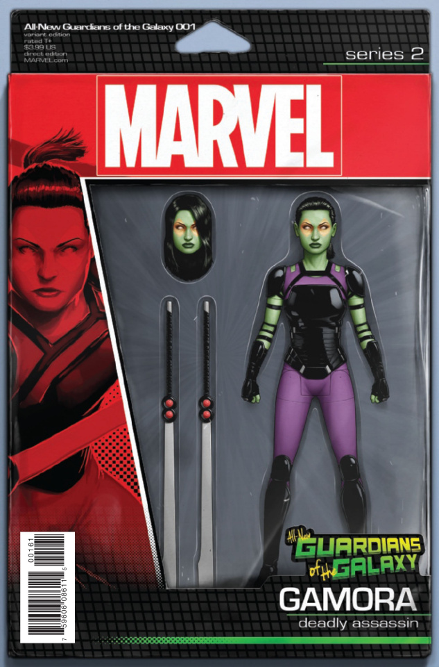 All-New Guardians of the Galaxy #1 (Christopher Action Figure Cover)
