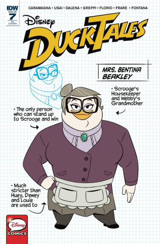 DuckTales #7 (10 Copy Cover)