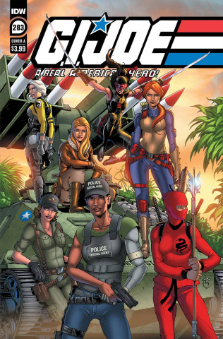 G.I. Joe: A Real American Hero #283 (Andrew Griffith Cover)