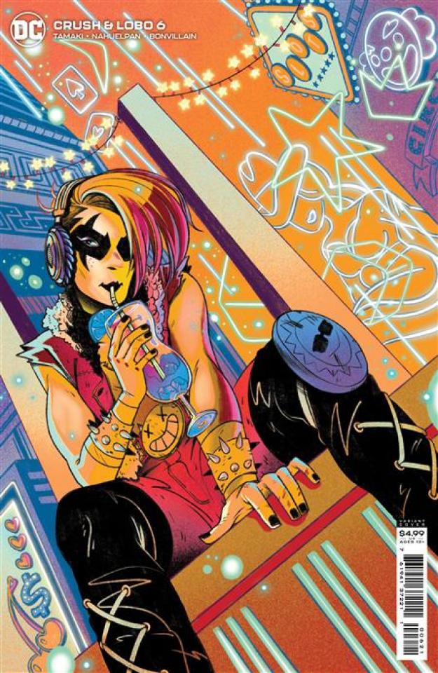 Crush & Lobo #6 (Nicole Goux Card Stock Cover)