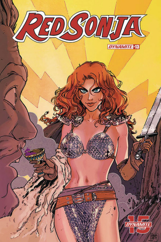 Red Sonja #13 (Anwar Cover)