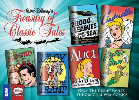 Walt Disney's Treasury of Classic Tales Vol. 1