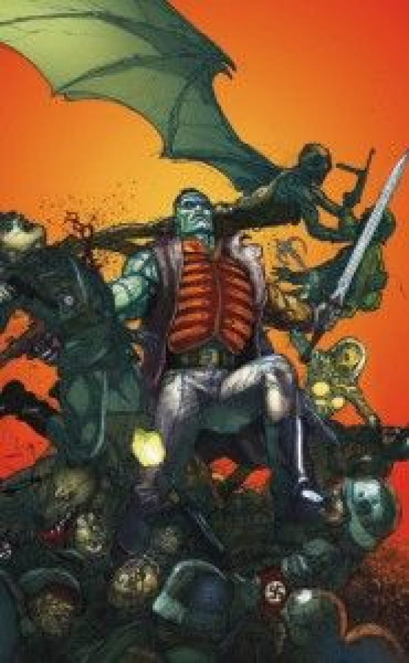 Flashpoint: Frankenstein and the Creatures of the Unknown #1