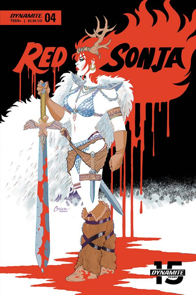 Red Sonja #4 (Conner Cover)