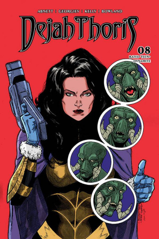 Dejah Thoris #8 (Peeples Homage Cover)