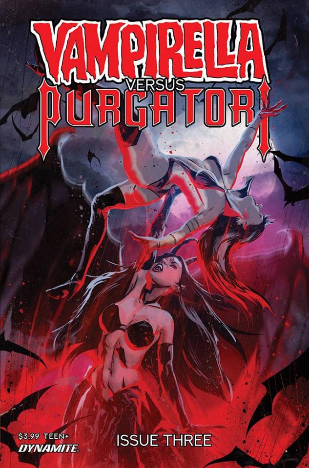 Vampirella vs. Purgatori #3 (Kudranski Cover)