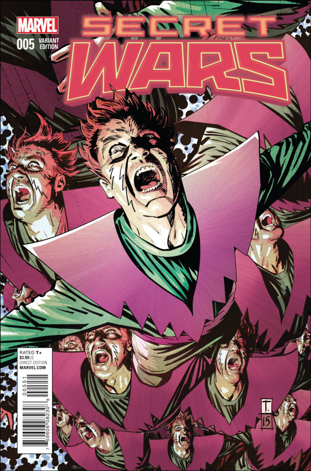 Secret Wars #5 (Coker Cover)