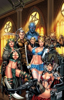 Grimm Fairy Tales Annual 2014 (Reyes Cover)