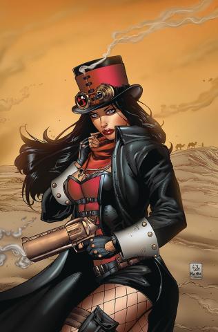 Van Helsing: The Sword of Heaven #3 (Spay Cover)
