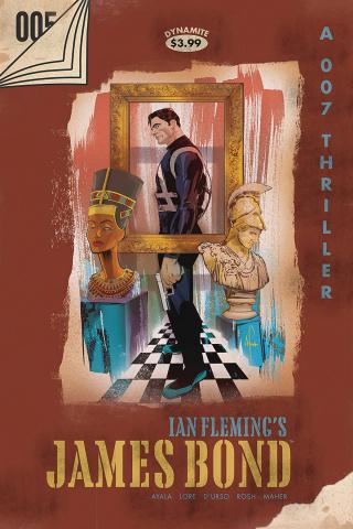 James Bond #5 (Richardson Virgin Cover)