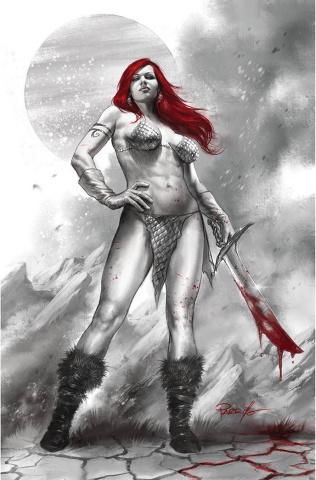 Red Sonja: Black, White, Red #1 (Parrillo Virgin Cover)