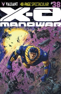 X-O Manowar #38 (10 Copy Fowler Cover)