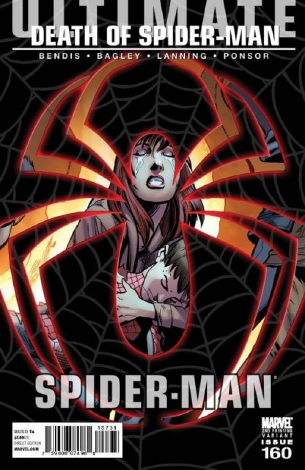 Ultimate Spider-Man #160 (2nd Printing)