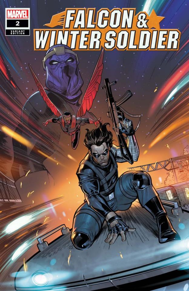 Falcon & Winter Soldier #2 (Medina Cover)