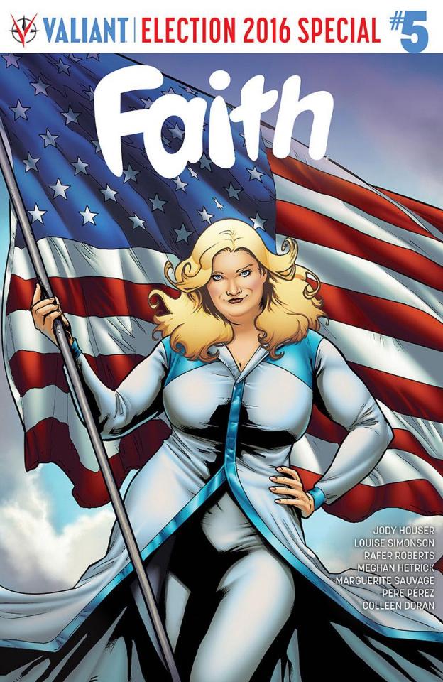 Faith #5 (Carnero Cover)