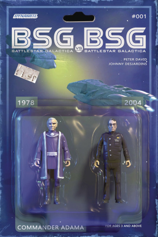 BSG vs. BSG #1 (Adama Action Figure Cover)