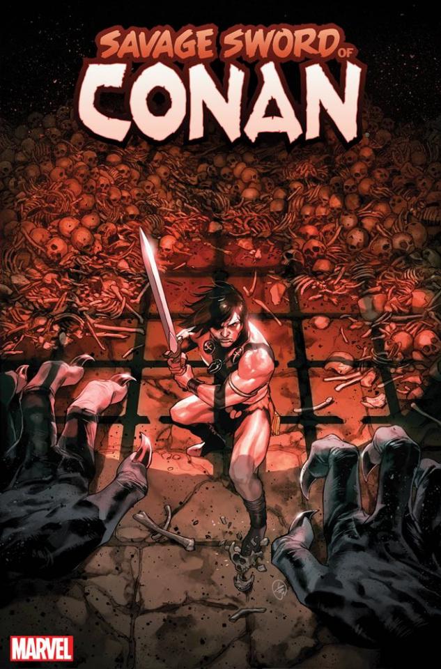 The Savage Sword of Conan #9 (Putri Cover)