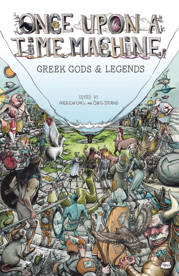 Once Upon a Time Machine Vol. 2: Greek Gods & Legends
