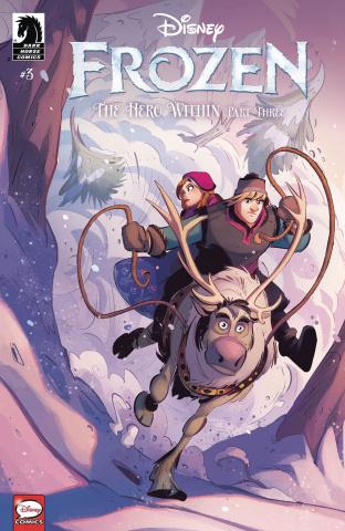 Frozen: The Hero Within #3 (Kawaii Creative Studio Cover)