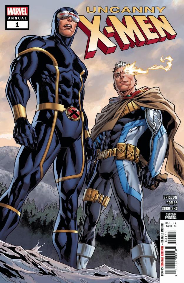 Uncanny X-Men Annual #1 (Gomez 2nd Printing)