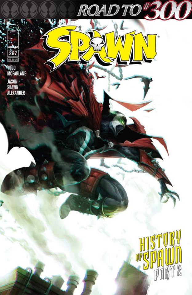 Spawn #297 (Mattina Cover)