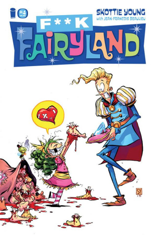 I Hate Fairyland #4 (F*ck Fairyland Cover)