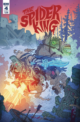 The Spider King #4 (Darmini Cover)