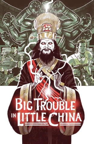 Big Trouble in Little China: Old Man Jack #1 (Subscription Cover)