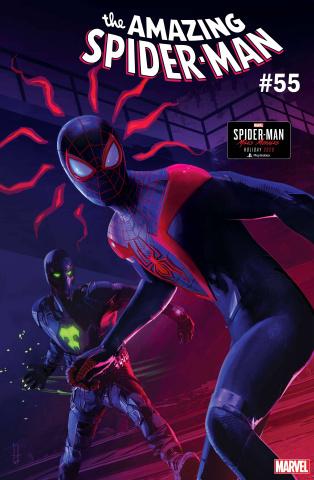 The Amazing Spider-Man #55 (Horton Spider-Man: Miles Morales Cover)