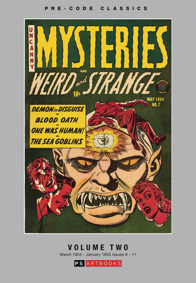 Uncanny Mysteries: Weird and Strange Vol. 2