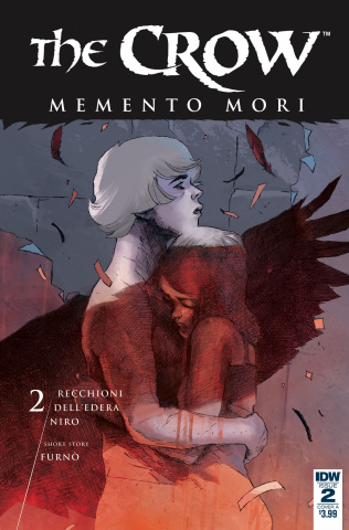 The Crow: Memento Mori #2 (Dell'Edera Cover)