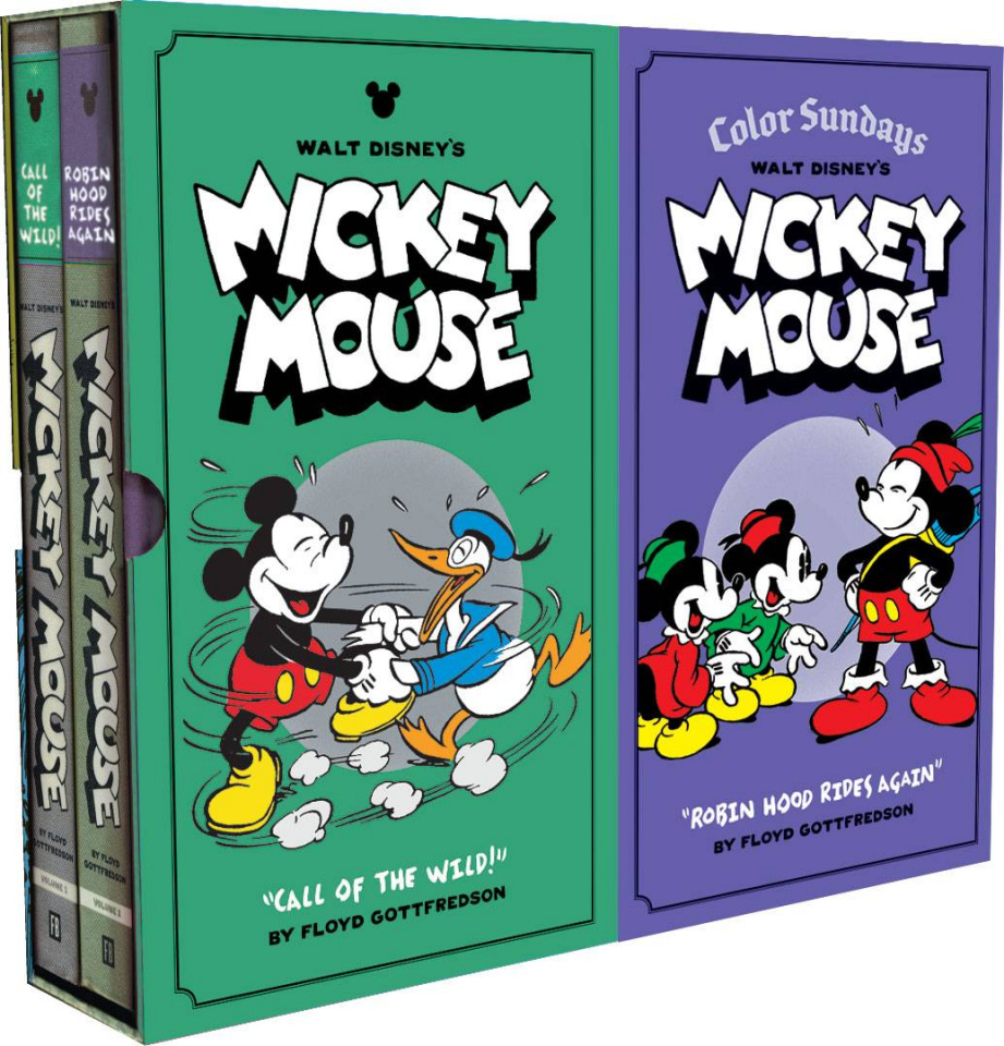 Walt Disney's Mickey Mouse: Color Sundays Vol. 1 (Box Set)