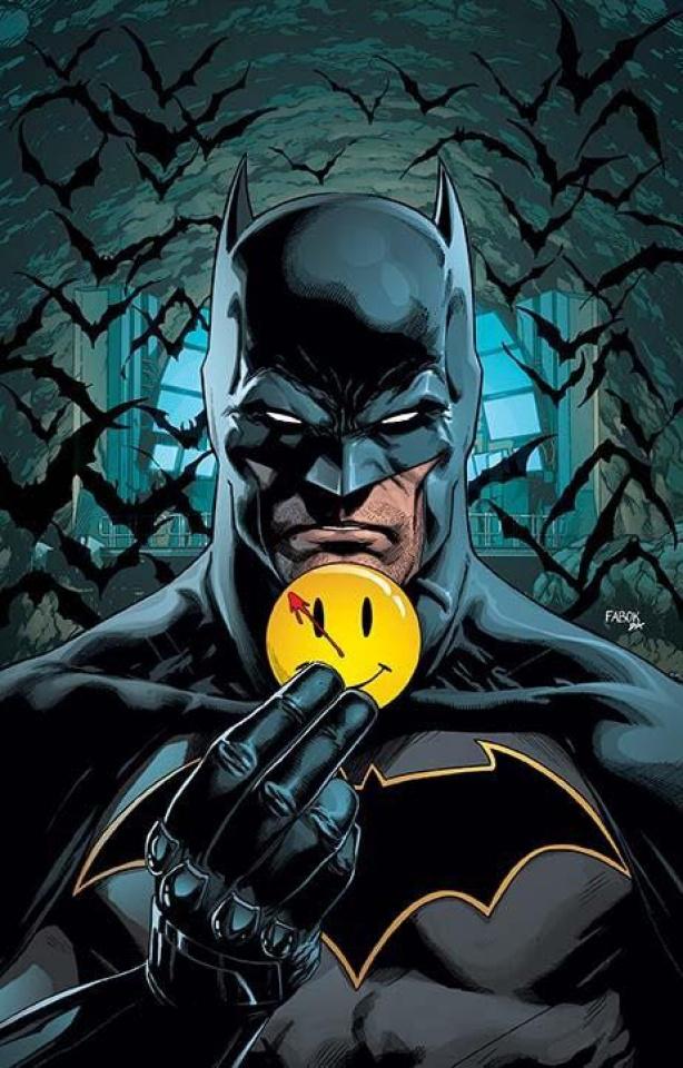 Batman #21 (Lenticular Cover: The Button)