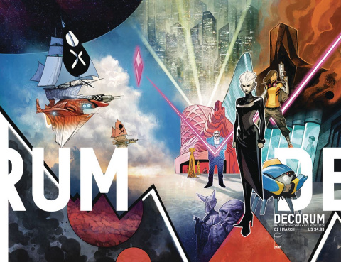Decorum #1 (Huddleston Cover)