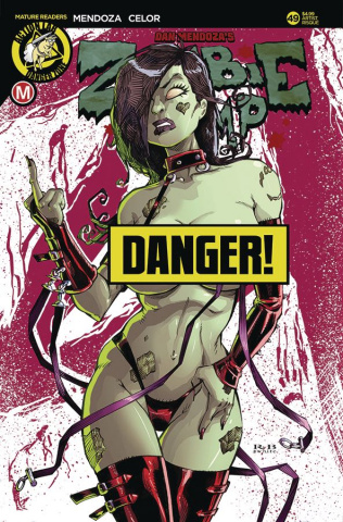 Zombie Tramp #49 (White Risque Cover)