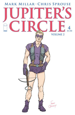 Jupiter's Circle #4 (Quitely Cover)