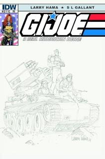 G.I. Joe: A Real American Hero #211 (10 Copy Cover)