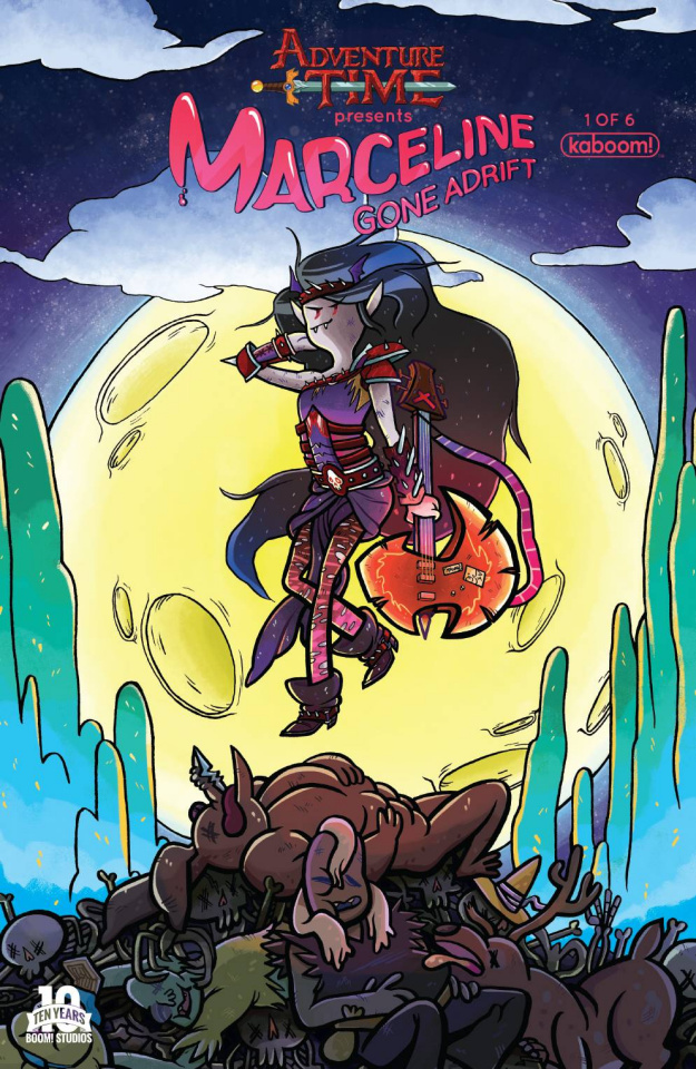 Adventure Time: Marceline Gone Adrift #1 (Subscription Amann Cover)
