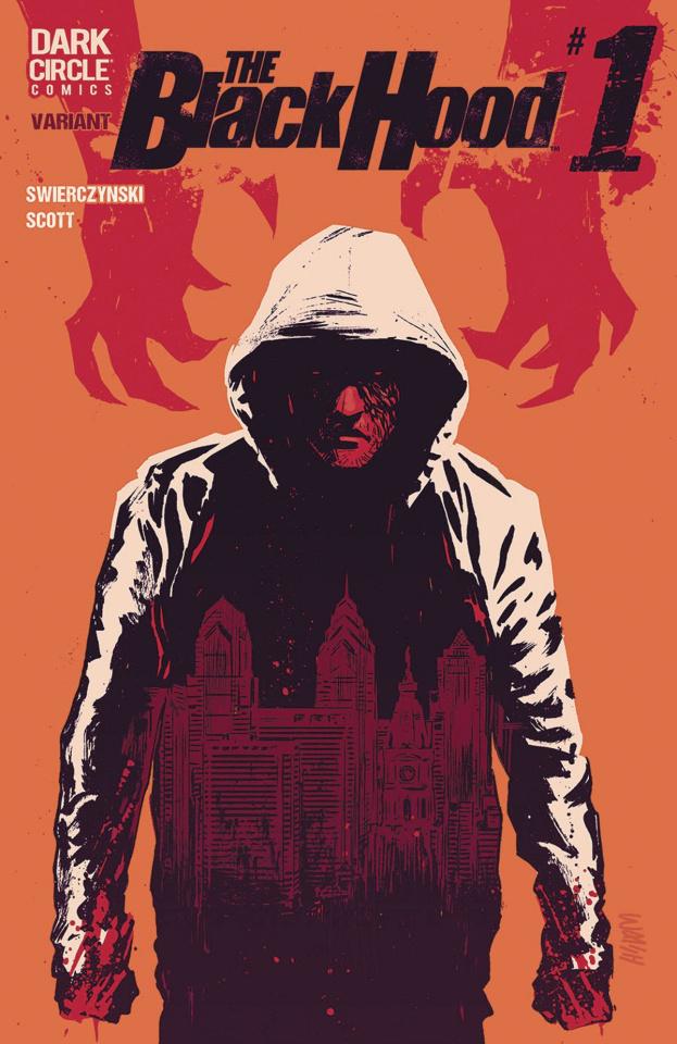 The Black Hood, Season 2 #1 (Walsh Cover)
