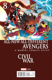 All-New All-Different Avengers #8 (Land Civil War Cover)