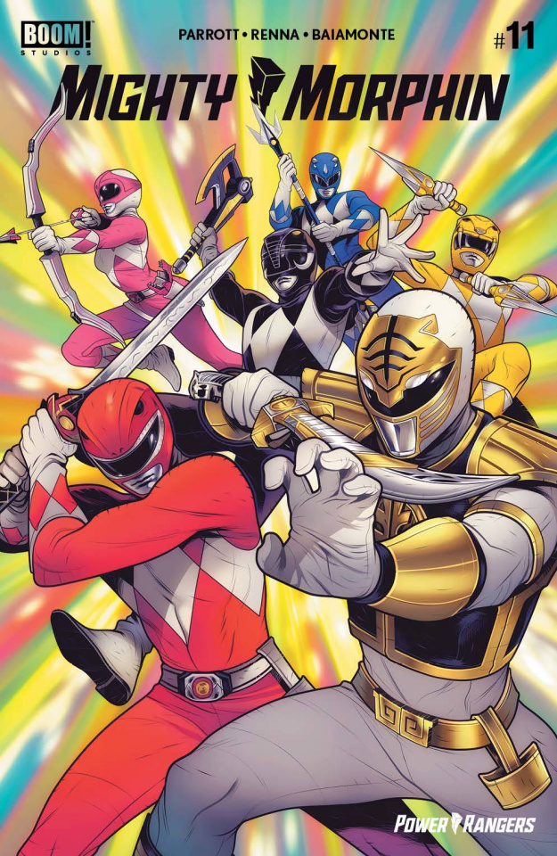Mighty Morphin #11 (Reveal Torque Cover)