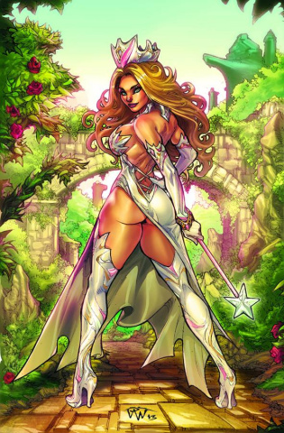 Grimm Fairy Tales: Oz #4 (Pantalena Cover)