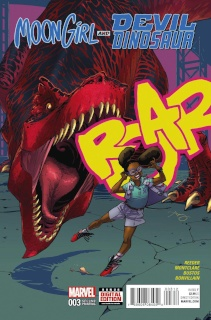 Moon Girl and Devil Dinosaur #3 (Reeder 2nd Printing)