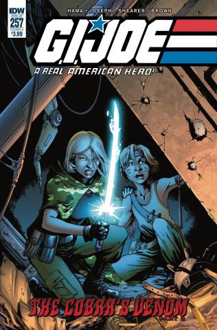 G.I. Joe: A Real American Hero #257 (Joseph Cover)